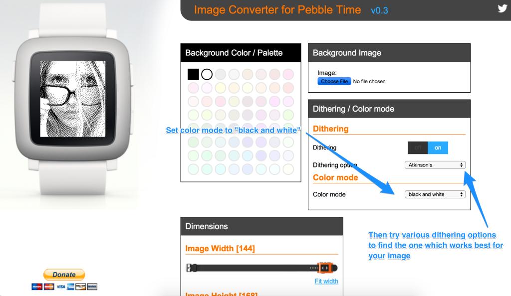 Image Converter for Aplite