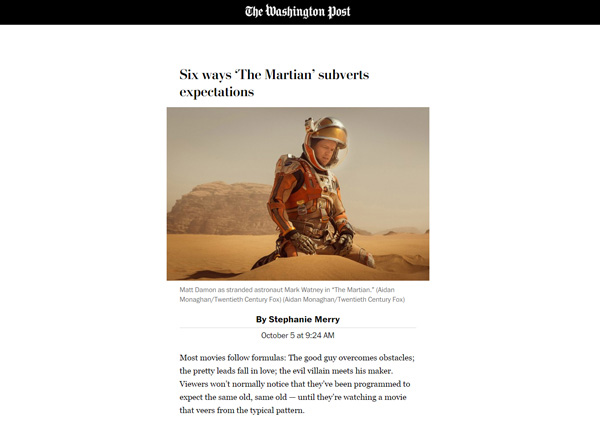 AMP Page by the Washington Post