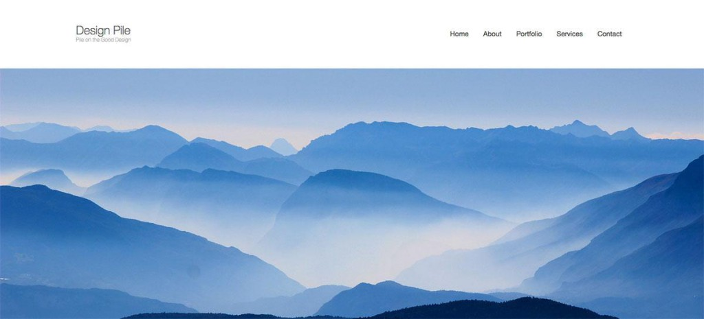 Homepage cover image