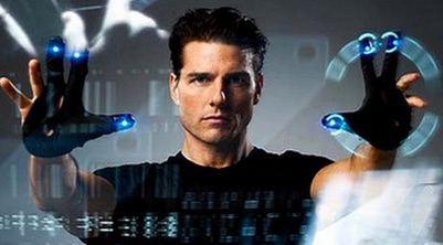 Tom Cruise voguing in Minority Report