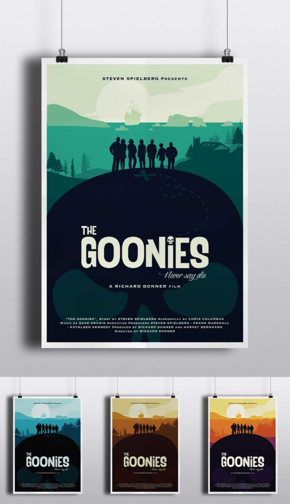 The Goonies by Eastwood Studio