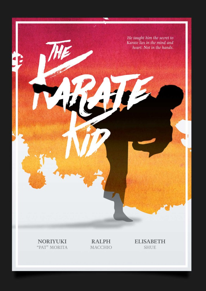 The Karate Kid by Sebastian Roy