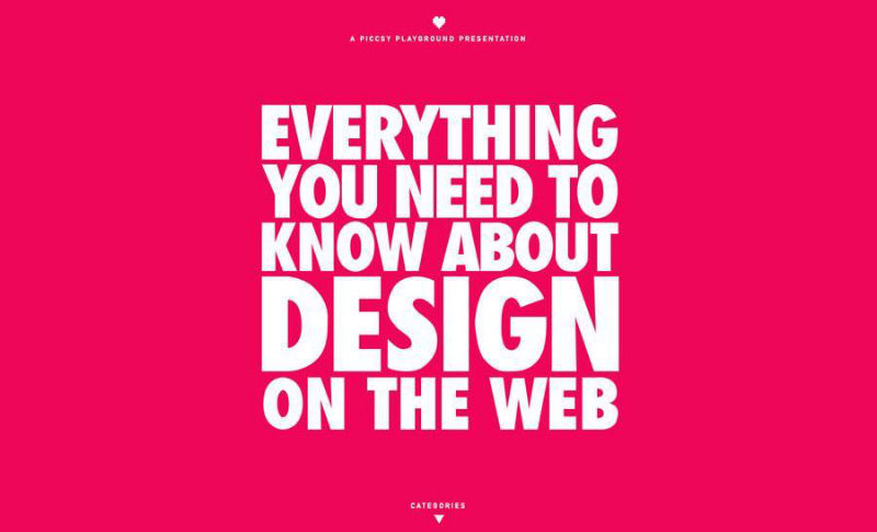 Everything you need to know about design on the web