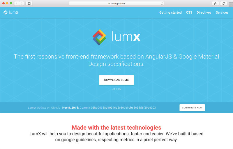 Top 5 Material Design Frameworks for 2015 - The Sequel