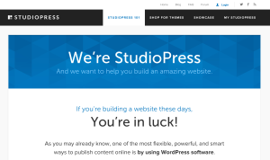 Genesis - A popular WordPress Theme Framework