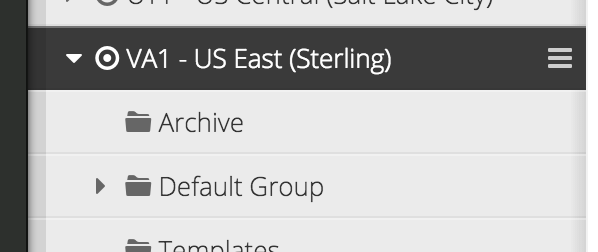 PostgreSQL menu