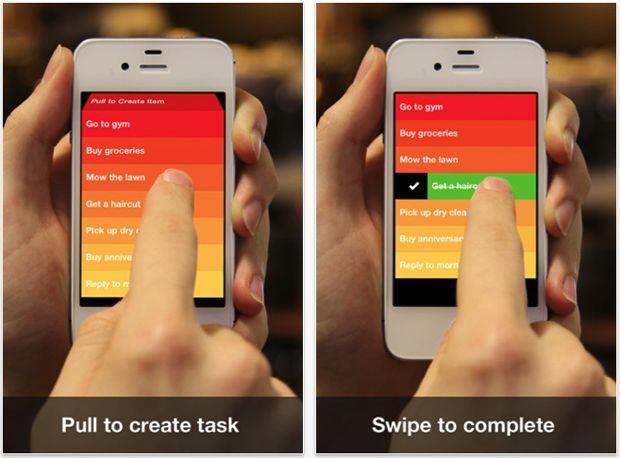 Clear App Screenshot - Gizmodo