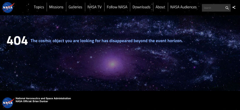 Website: NASA