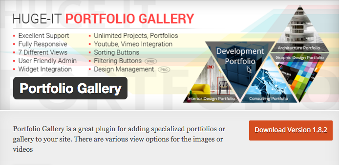 Portfolio Gallery by Huge IT
