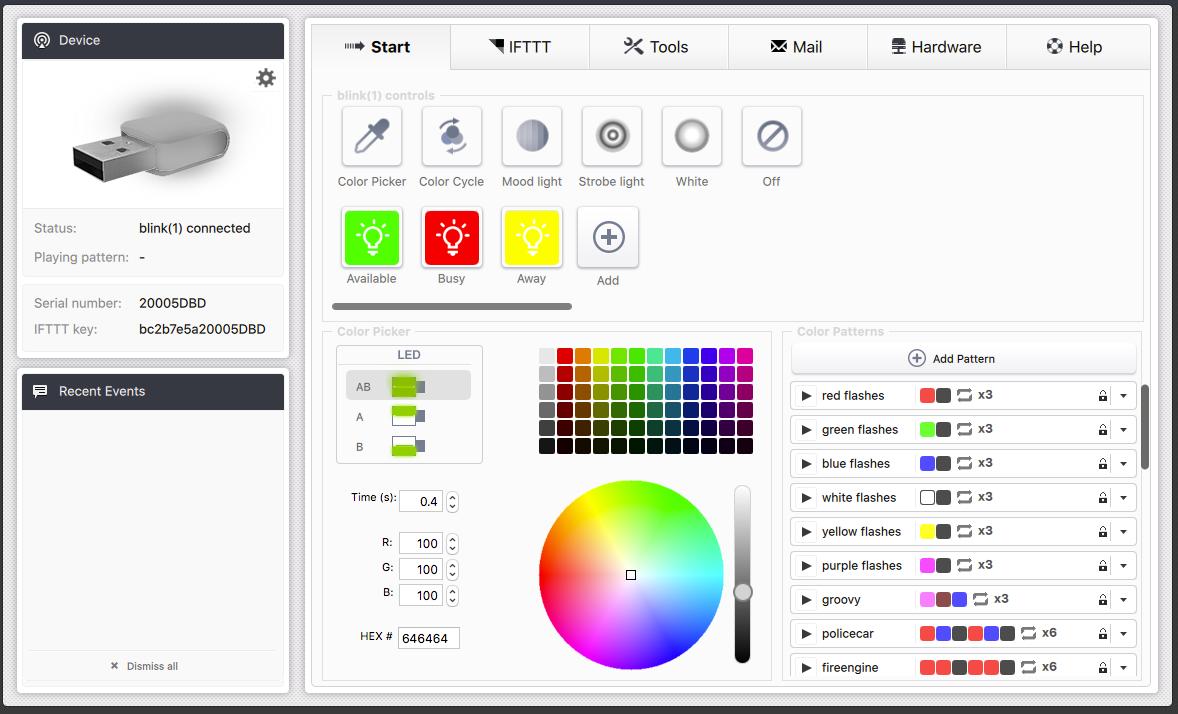 Blink Control App