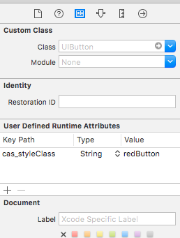 Custom Class in Interface Builder