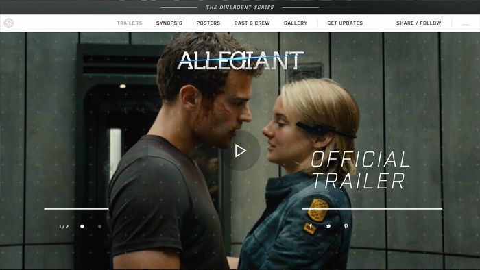 Insurgent Immersive Example