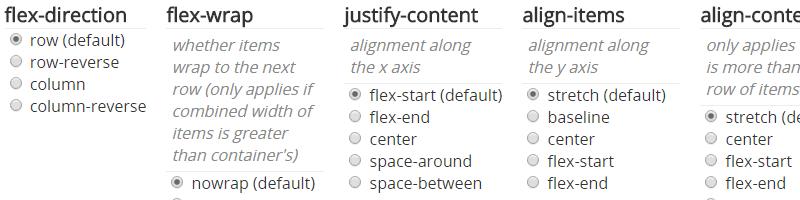 Flexbox.help