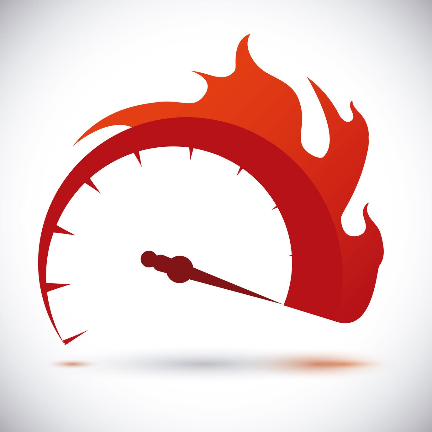 Speed design over white background, vector illustration.