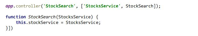 Type declaration