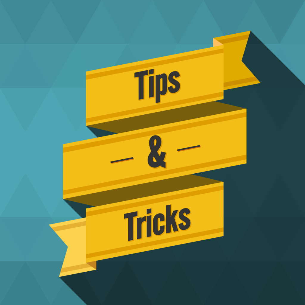 Tips and Tricks intro image