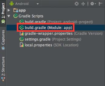 App Module Gradle