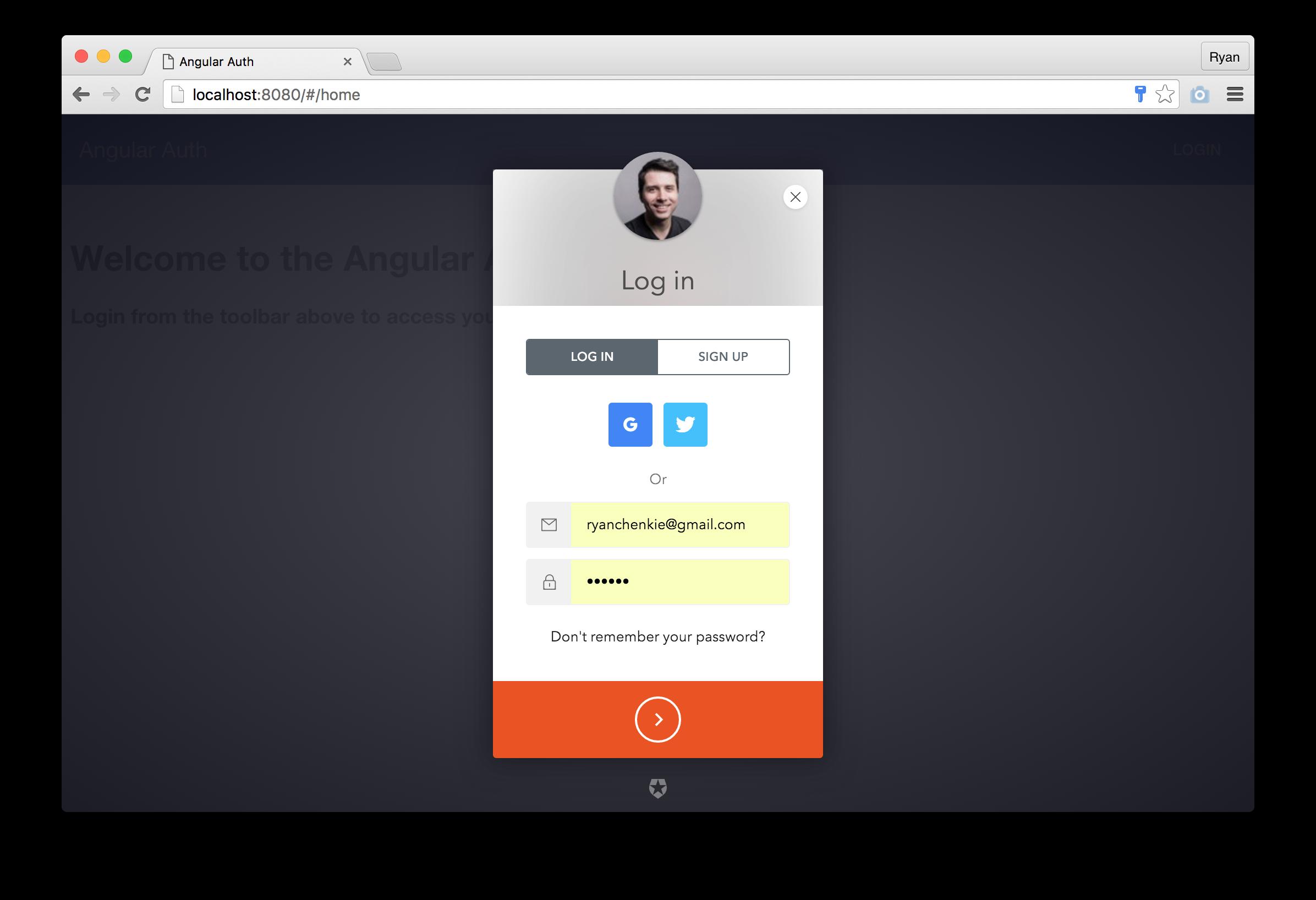 angular authentication auth0