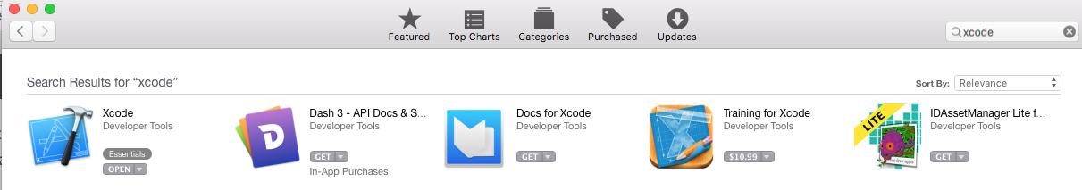 get Xcode