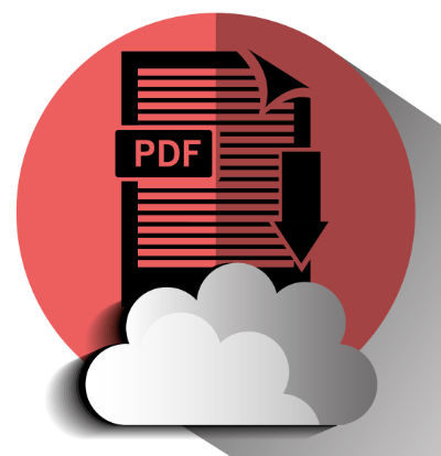 Print PDF from a web page