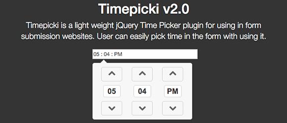TimePicki example