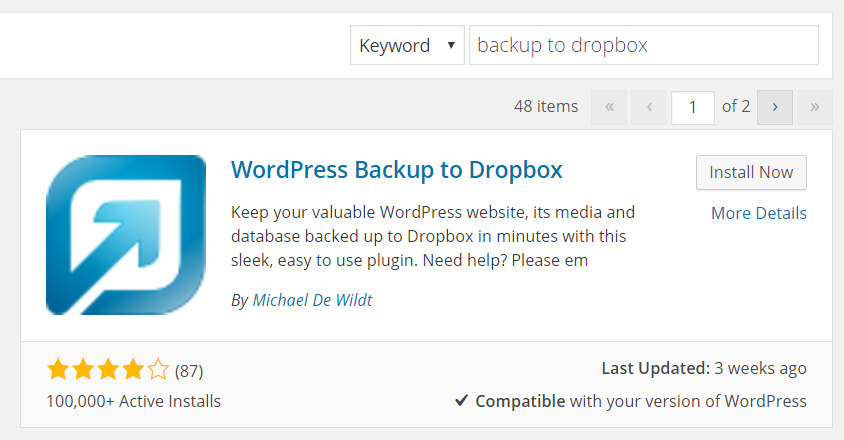 Scheduled Backups for WordPress for Free in 5 Minutes