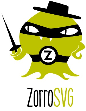 ZorroSVG - Put a Mask on it