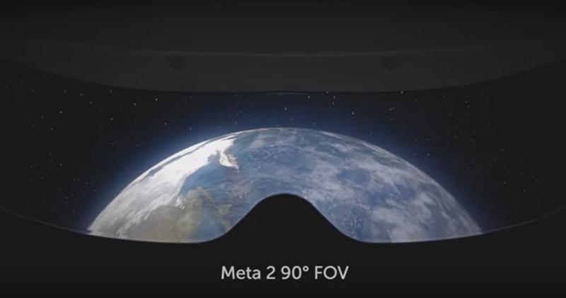 Meta 2 field of view