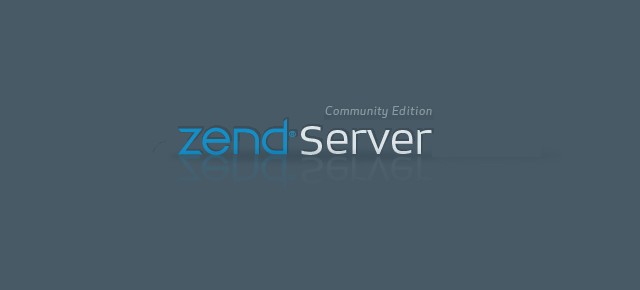 Zend Server Splash Screen