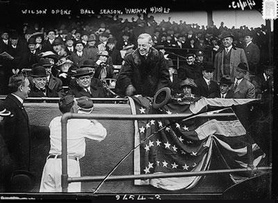 Woodrow Wilson archive image