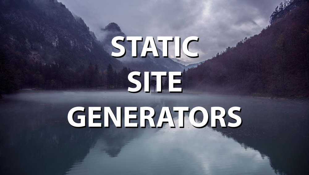 static site generators