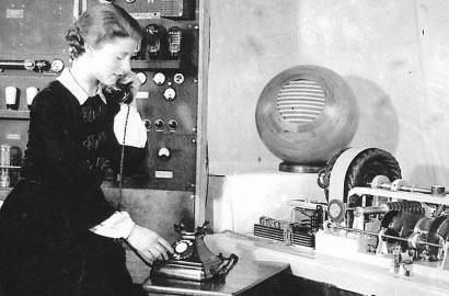 Ethel 'Jane' Cain - First voice of the London talking clock