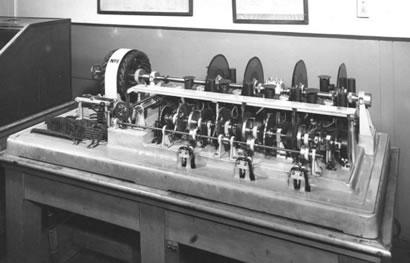 'Tim' - the original talking clock.