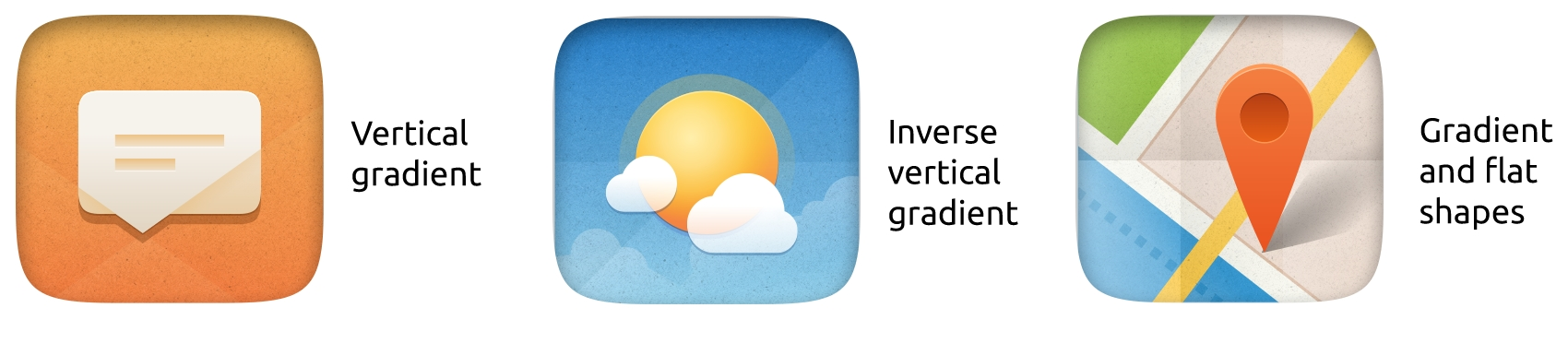 Ubuntu Icon Examples
