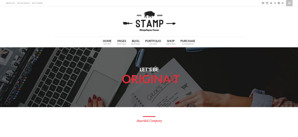 Stamp Corporate Theme