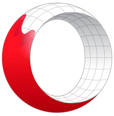 Opera for Developers logo