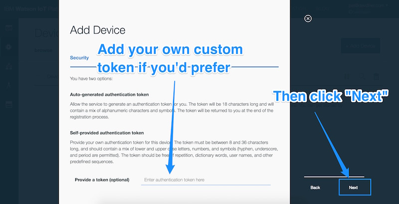 Security token options