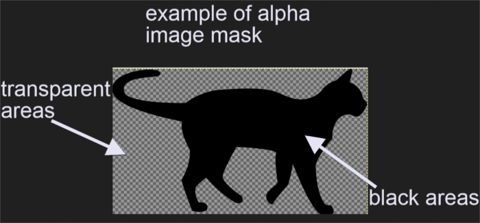 Example of image to be used as alpha mask.