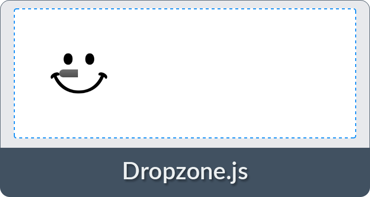 Dropzone.js Screenshot