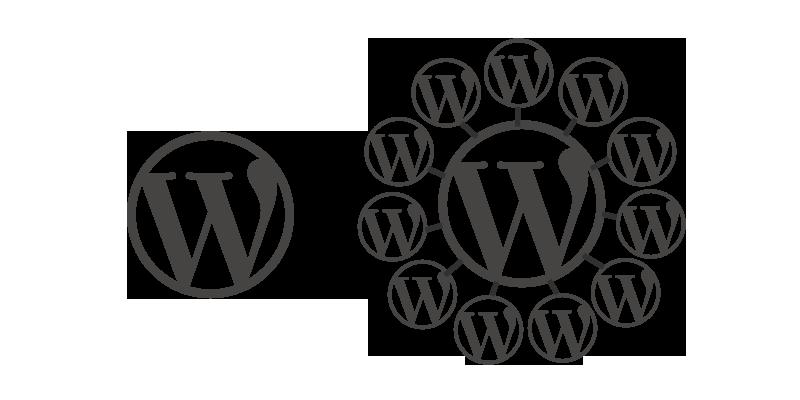 WordPress Multisite Graphic