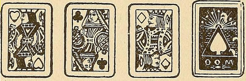 Playings cards as personas