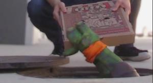 Ninja turtle pizza