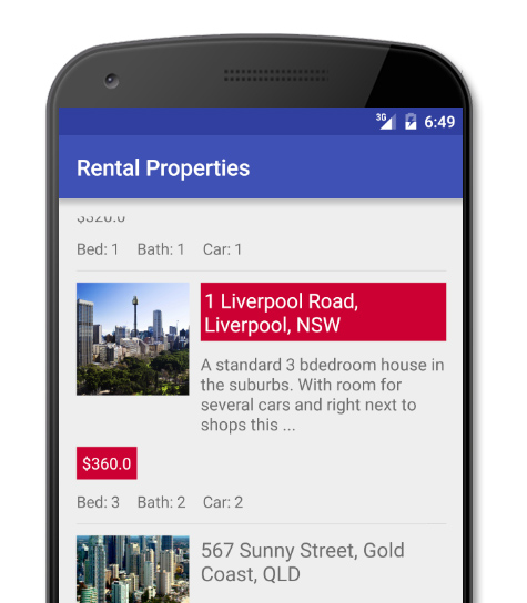 Www Rentalproperties Com: How To Create A Custom Android Layout