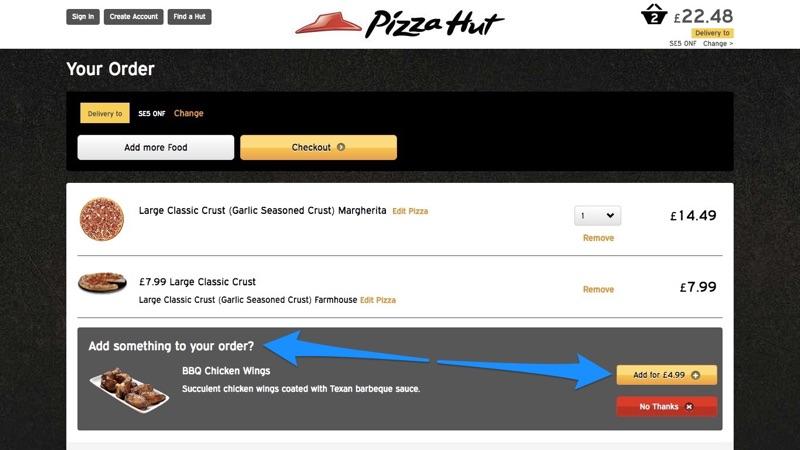 Pizza Hut Online Point of Sale