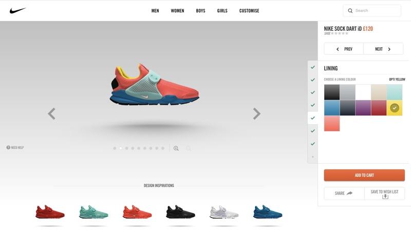 Nike Shoe Customization