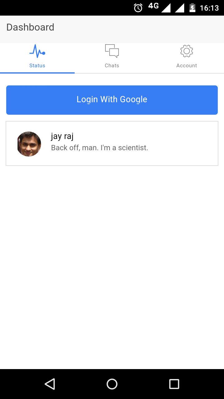 OAuth App Using ngCordova Plugin