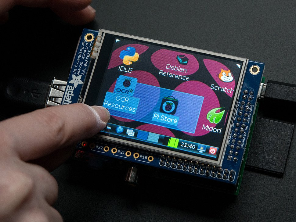 Raspberry Pi Screen from Adafruit