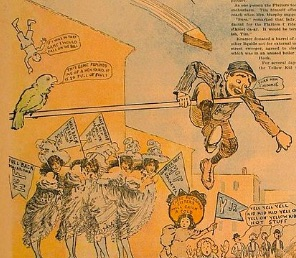 Extract for 'The Yellow Kid' comic strip - 1895 to 1898