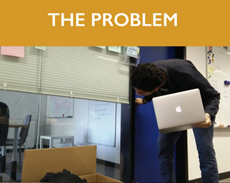 The Problem: Jude looking for an office