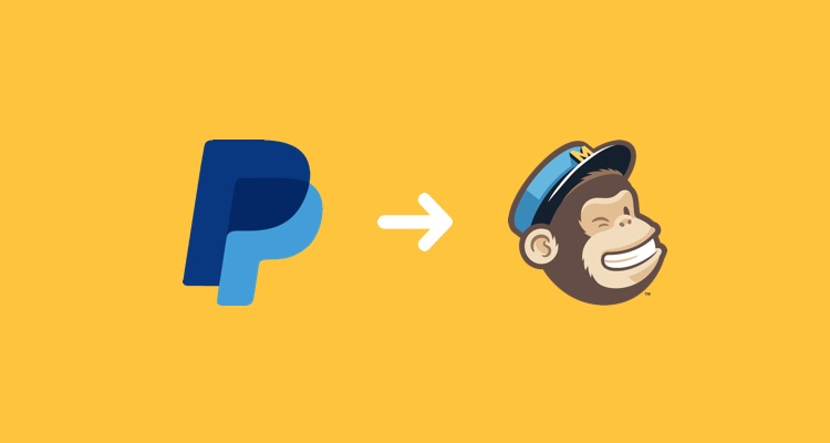 PayPal to Mailchimp workflow